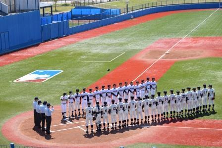 野球部春季地区大会